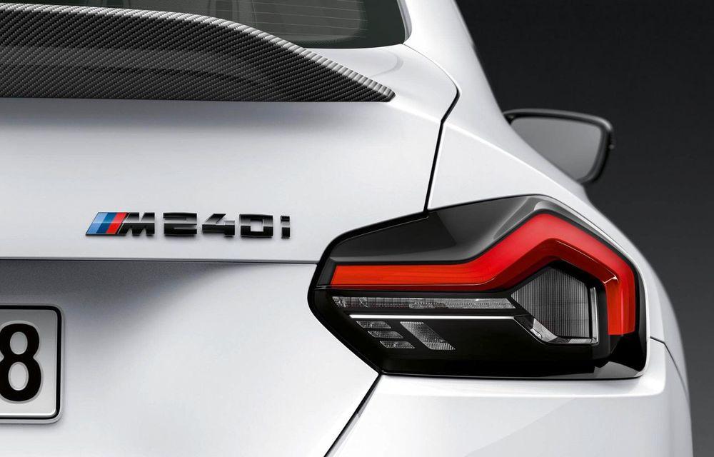 Noul BMW Seria 2 Coupe primește o serie de accesorii M Performance - Poza 10