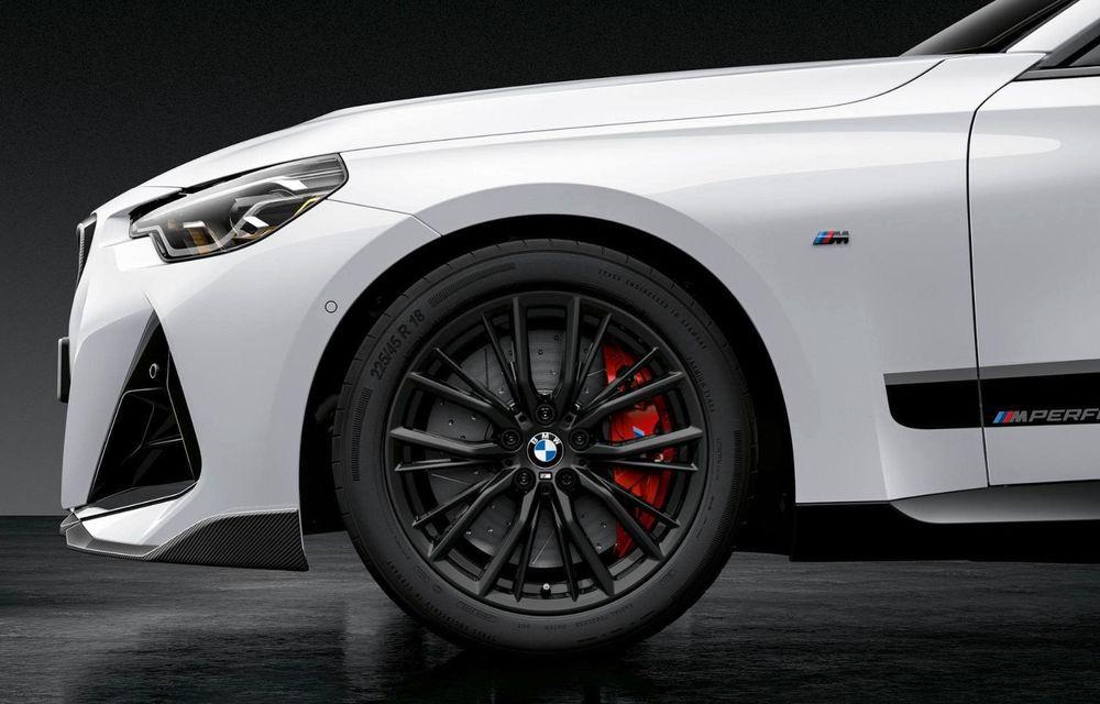 Noul BMW Seria 2 Coupe primește o serie de accesorii M Performance - Poza 13