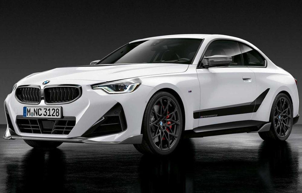 Noul BMW Seria 2 Coupe primește o serie de accesorii M Performance - Poza 1