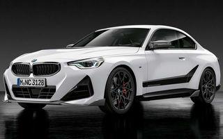 Noul BMW Seria 2 Coupe primește o serie de accesorii M Performance