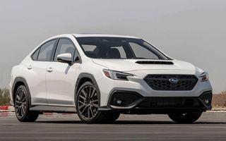 Noua generație Subaru WRX debutează cu motor de 2.4 litri și 275 de cai putere