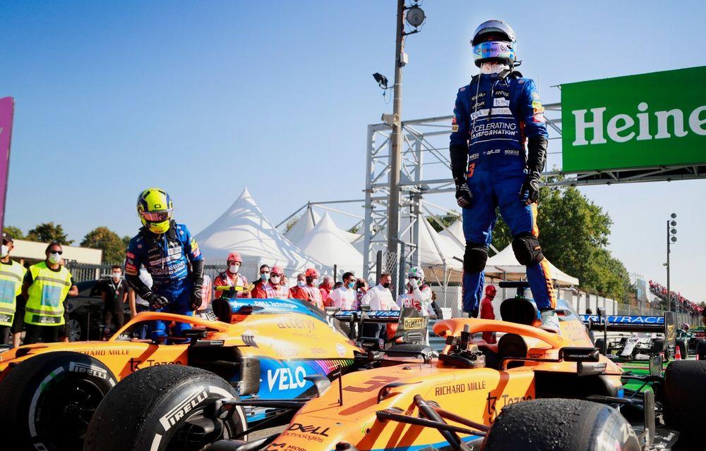 Dublă McLaren la Monza. Daniel Ricciardo câștigă pentru prima oară din 2018 - Poza 1