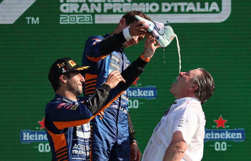 Dublă McLaren la Monza. Daniel Ricciardo câștigă pentru prima oară din 2018 - Poza 3