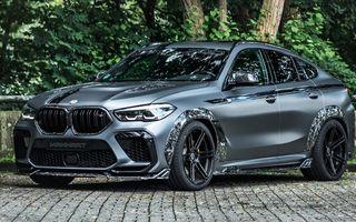 Tuning pentru BMW X6 M Competition: 740 CP și accesorii din carbon forjat