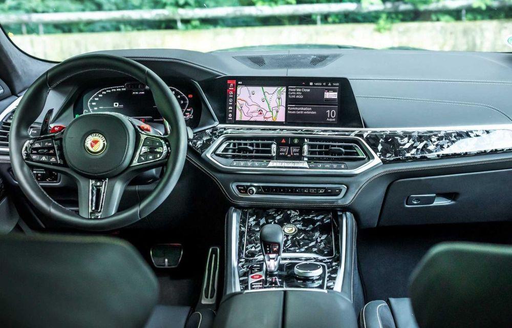 Tuning pentru BMW X6 M Competition: 740 CP și accesorii din carbon forjat - Poza 4