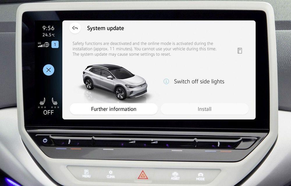 Volkswagen introduce o nouă versiune software pentru modelele electrice din gama ID - Poza 1