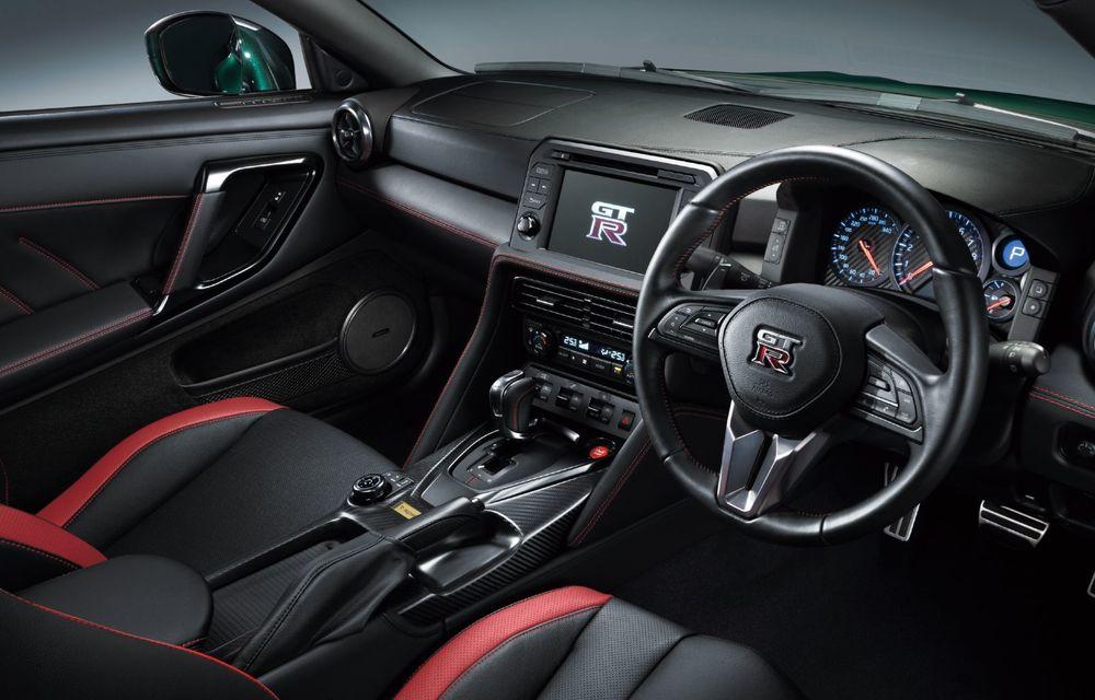 Nissan prezintă noul GT-R pentru piața japoneză: 2 ediții speciale cu o producție limitată la 100 de exemplare - Poza 12