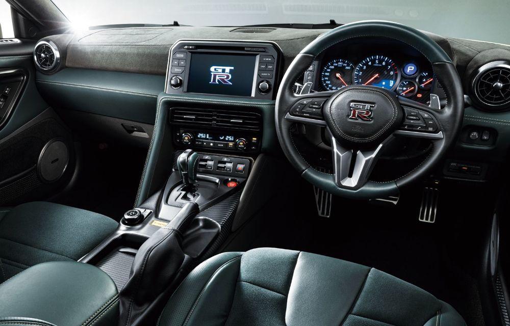 Nissan prezintă noul GT-R pentru piața japoneză: 2 ediții speciale cu o producție limitată la 100 de exemplare - Poza 21
