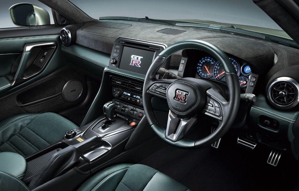 Nissan prezintă noul GT-R pentru piața japoneză: 2 ediții speciale cu o producție limitată la 100 de exemplare - Poza 22