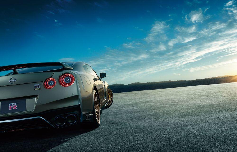 Nissan prezintă noul GT-R pentru piața japoneză: 2 ediții speciale cu o producție limitată la 100 de exemplare - Poza 5