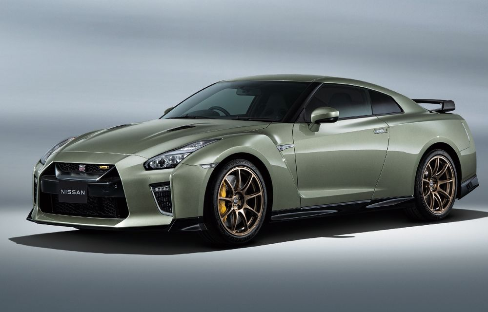 Nissan prezintă noul GT-R pentru piața japoneză: 2 ediții speciale cu o producție limitată la 100 de exemplare - Poza 1