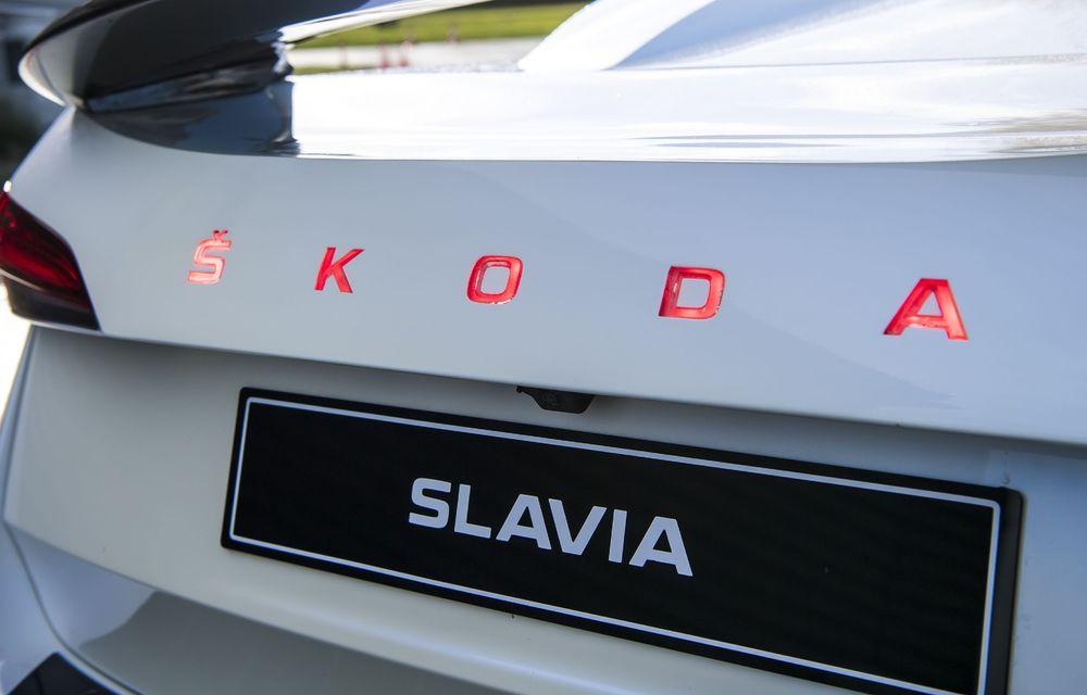 Skoda Slavia este un sedan pentru India, cu numele unei motociclete din 1899 - Poza 1