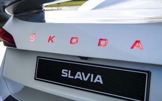 Skoda Slavia este un sedan pentru India, cu numele unei motociclete din 1899