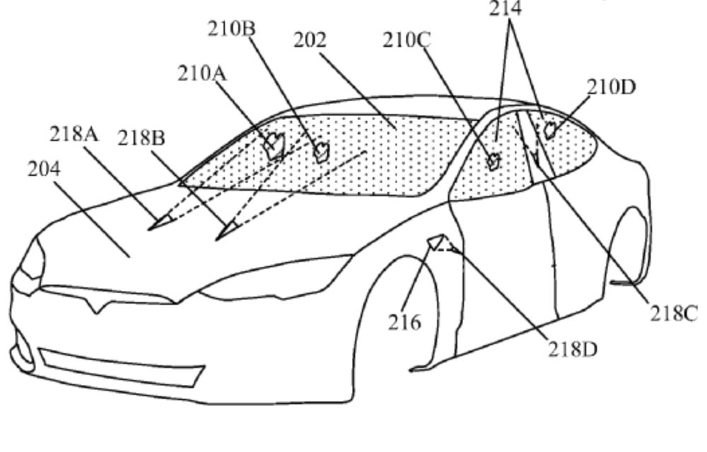 Tesla vrea să reinventeze ștergătoarele de parbriz: a patentat un fascicului laser care înlătură apa - Poza 2