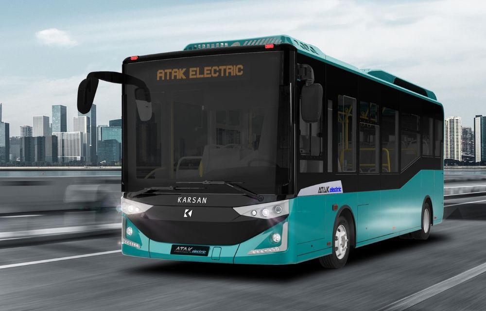 Turcii de la Karsan vor livra 56 de autobuze electrice în Timișoara și Brașov - Poza 1