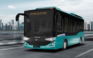 Turcii de la Karsan vor livra 56 de autobuze electrice în Timișoara și Brașov