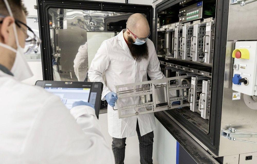 Volkswagen deschide un nou centru de cercetare și dezvoltare în domeniul bateriilor - Poza 1