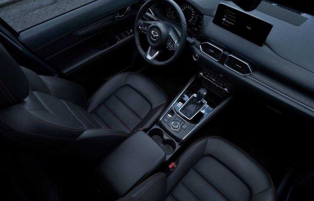Mazda CX-5 facelift: trei niveluri de echipare noi și mai multe sisteme de siguranță - Poza 14