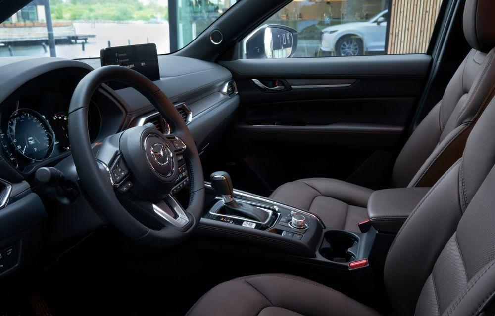 Mazda CX-5 facelift: trei niveluri de echipare noi și mai multe sisteme de siguranță - Poza 13
