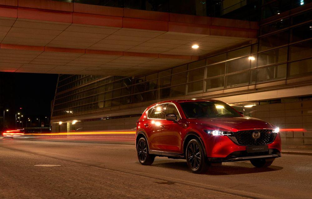 Mazda CX-5 facelift: trei niveluri de echipare noi și mai multe sisteme de siguranță - Poza 3