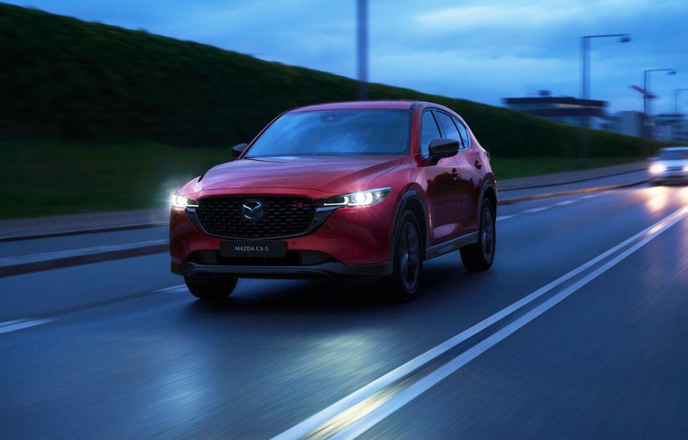 Mazda CX-5 facelift: trei niveluri de echipare noi și mai multe sisteme de siguranță - Poza 5