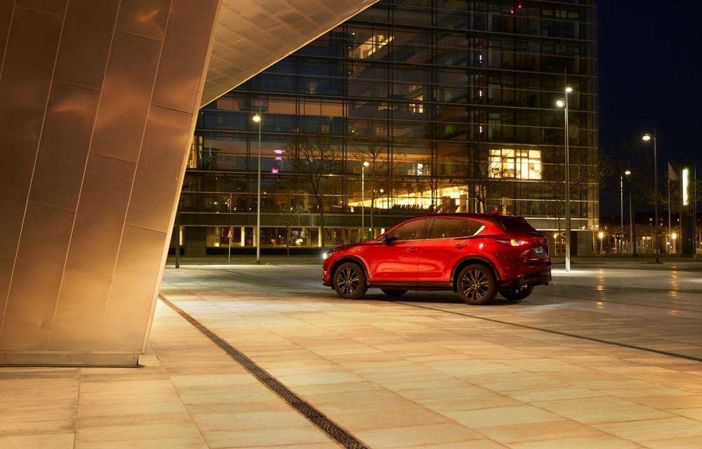 Mazda CX-5 facelift: trei niveluri de echipare noi și mai multe sisteme de siguranță - Poza 6