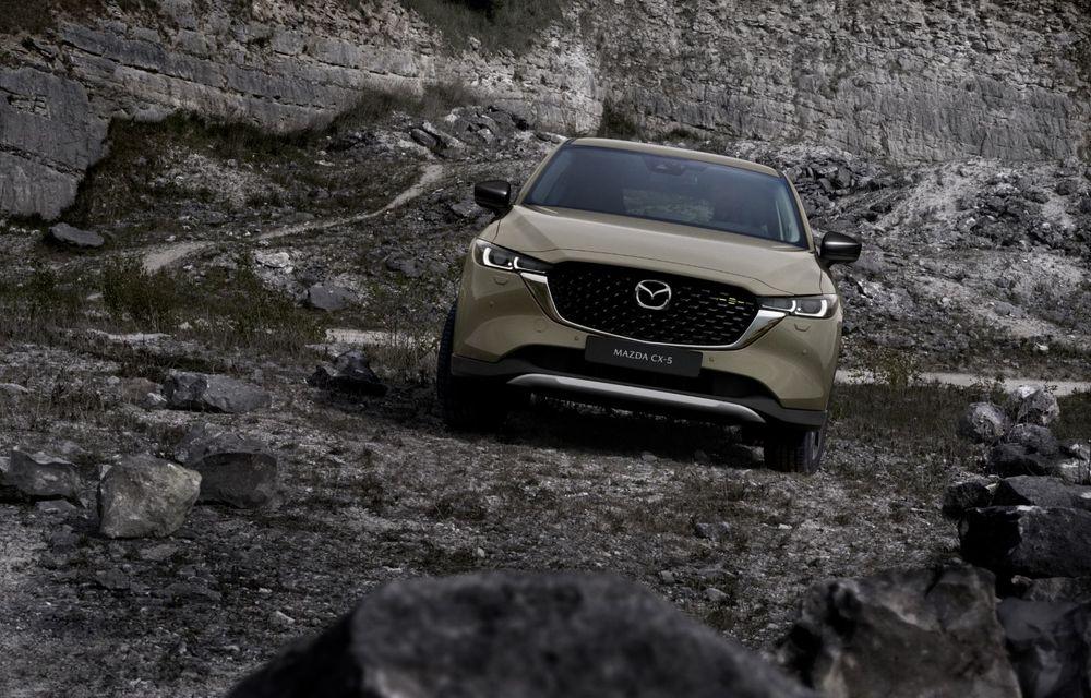 Mazda CX-5 facelift: trei niveluri de echipare noi și mai multe sisteme de siguranță - Poza 10