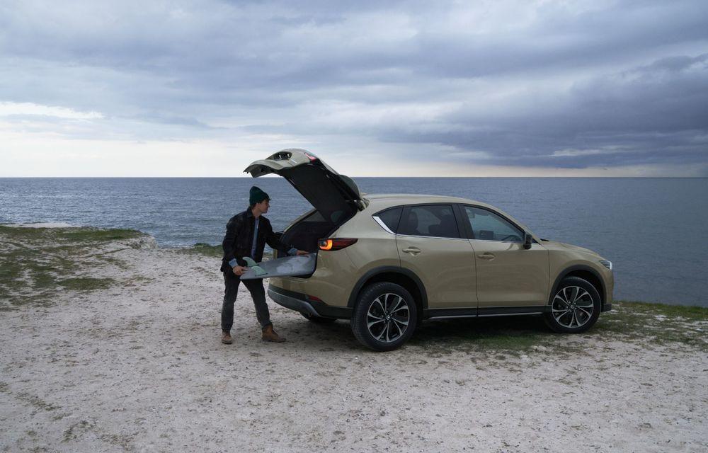 Mazda CX-5 facelift: trei niveluri de echipare noi și mai multe sisteme de siguranță - Poza 11