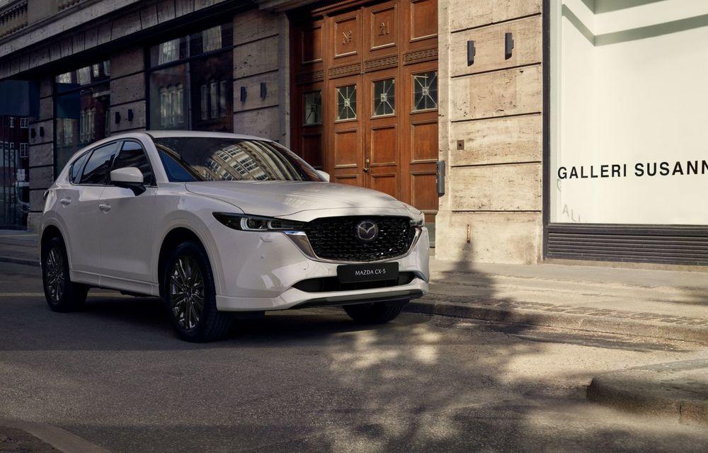 Mazda CX-5 facelift: trei niveluri de echipare noi și mai multe sisteme de siguranță - Poza 7