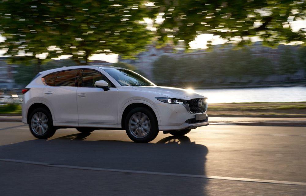 Mazda CX-5 facelift: trei niveluri de echipare noi și mai multe sisteme de siguranță - Poza 8