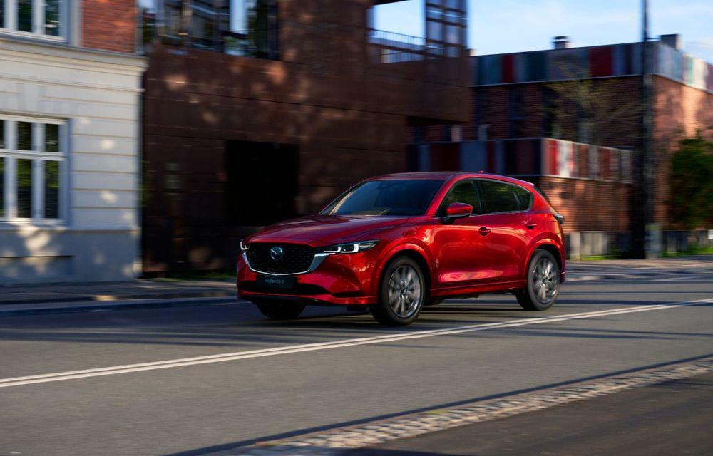 Mazda CX-5 facelift: trei niveluri de echipare noi și mai multe sisteme de siguranță - Poza 2