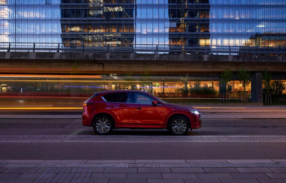 Mazda CX-5 facelift: trei niveluri de echipare noi și mai multe sisteme de siguranță - Poza 4