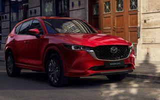Mazda CX-5 facelift: trei niveluri de echipare noi și mai multe sisteme de siguranță
