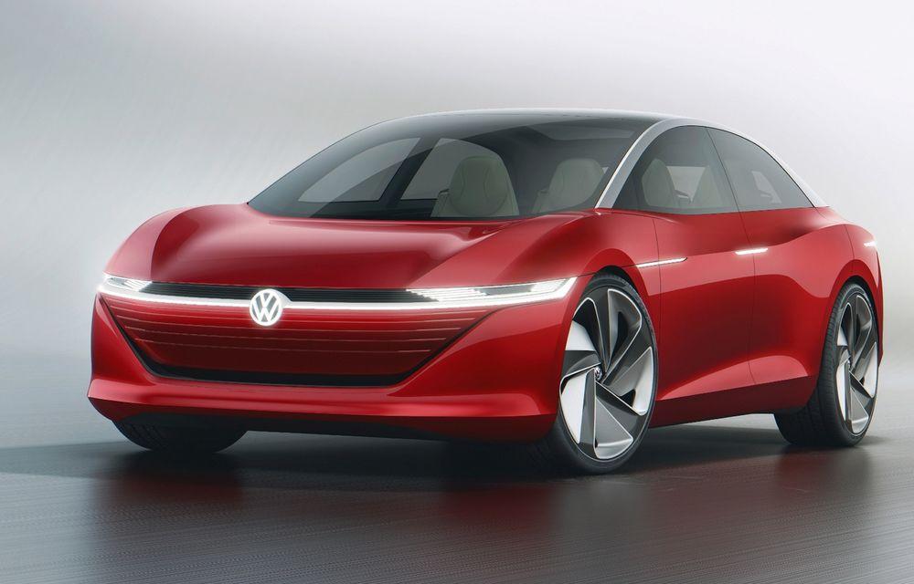 Electricul Volkswagen Aero B va înlocui celebrul Passat. Ar putea debuta în 2023 - Poza 1