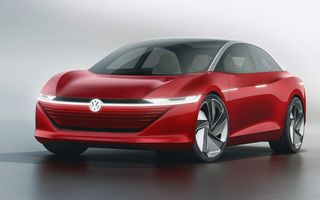 Electricul Volkswagen Aero B va înlocui celebrul Passat. Ar putea debuta în 2023