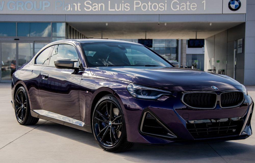 Noul BMW Seria 2 Coupe a intrat în producție la uzina din Mexic - Poza 1
