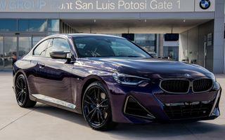 Noul BMW Seria 2 Coupe a intrat în producție la uzina din Mexic