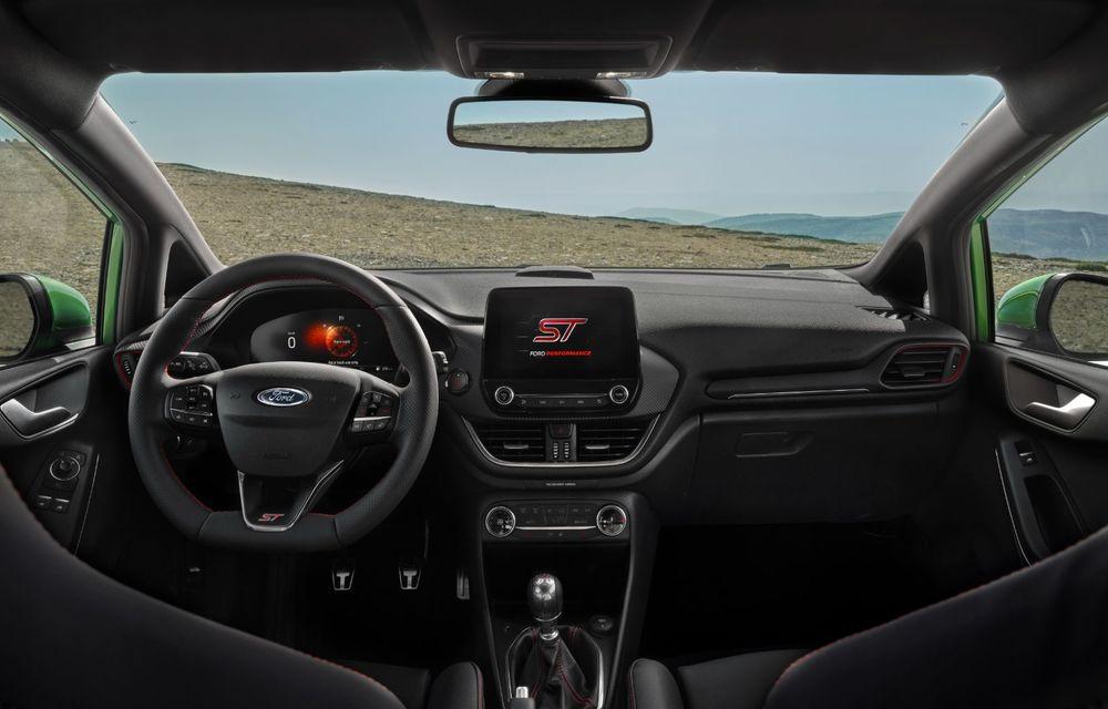 Ford prezintă noul Fiesta facelift: sistem micro hibrid și mai mult cuplu pentru Fiesta ST - Poza 15