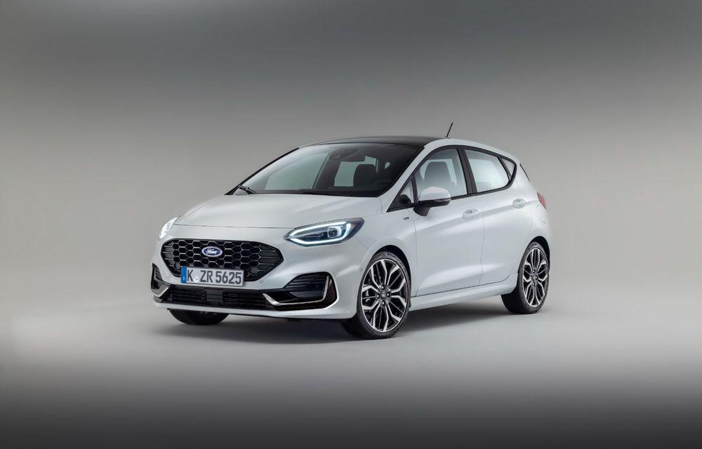 Ford prezintă noul Fiesta facelift: sistem micro hibrid și mai mult cuplu pentru Fiesta ST - Poza 5