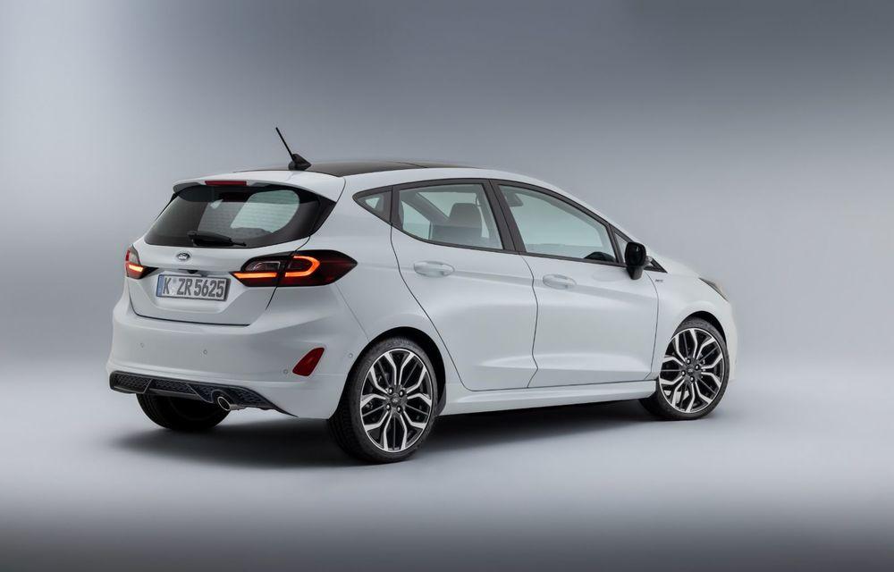 Ford prezintă noul Fiesta facelift: sistem micro hibrid și mai mult cuplu pentru Fiesta ST - Poza 6