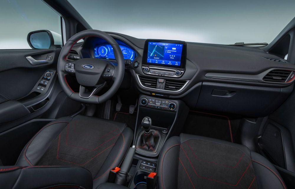 Ford prezintă noul Fiesta facelift: sistem micro hibrid și mai mult cuplu pentru Fiesta ST - Poza 16