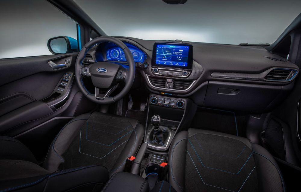 Ford prezintă noul Fiesta facelift: sistem micro hibrid și mai mult cuplu pentru Fiesta ST - Poza 17
