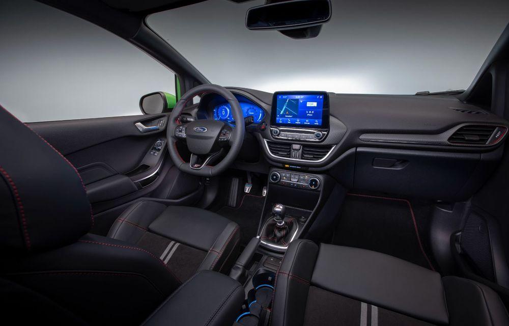 Ford prezintă noul Fiesta facelift: sistem micro hibrid și mai mult cuplu pentru Fiesta ST - Poza 18