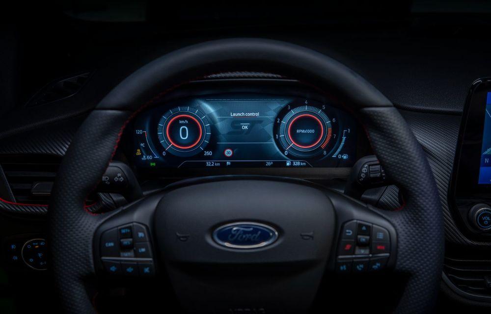 Ford prezintă noul Fiesta facelift: sistem micro hibrid și mai mult cuplu pentru Fiesta ST - Poza 19