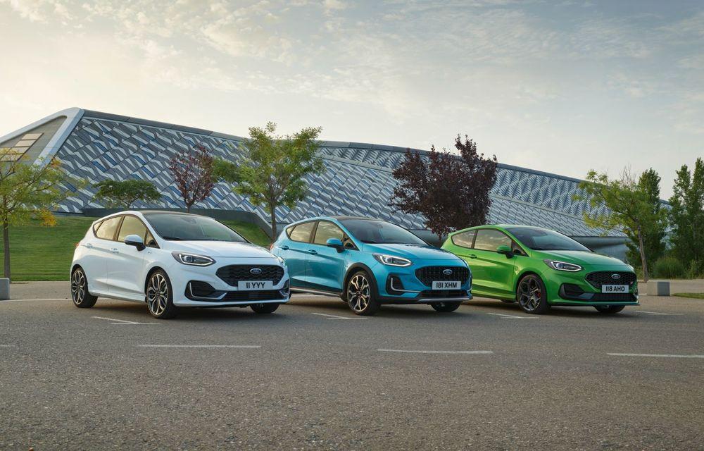 Ford prezintă noul Fiesta facelift: sistem micro hibrid și mai mult cuplu pentru Fiesta ST - Poza 2