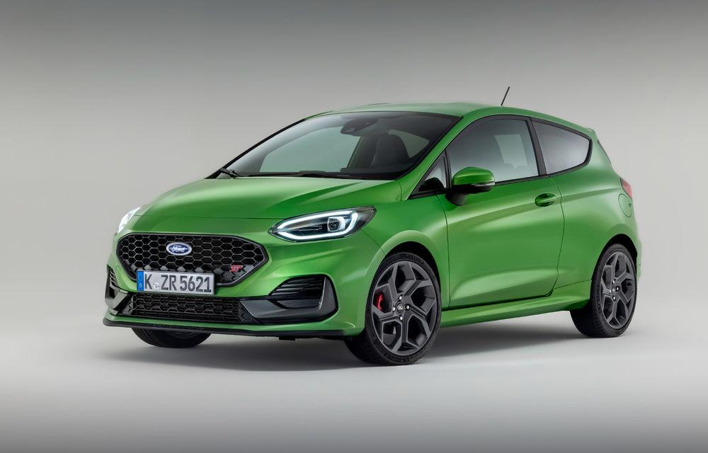 Ford prezintă noul Fiesta facelift: sistem micro hibrid și mai mult cuplu pentru Fiesta ST - Poza 1