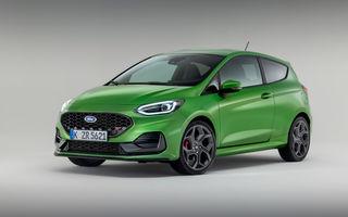 Ford prezintă noul Fiesta facelift: sistem micro hibrid și mai mult cuplu pentru Fiesta ST