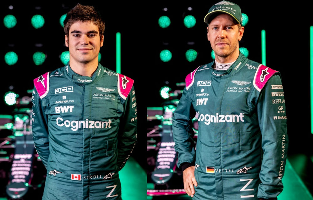 Sebastian Vettel și Lance Stroll rămân la Aston Martin și în 2022 - Poza 1