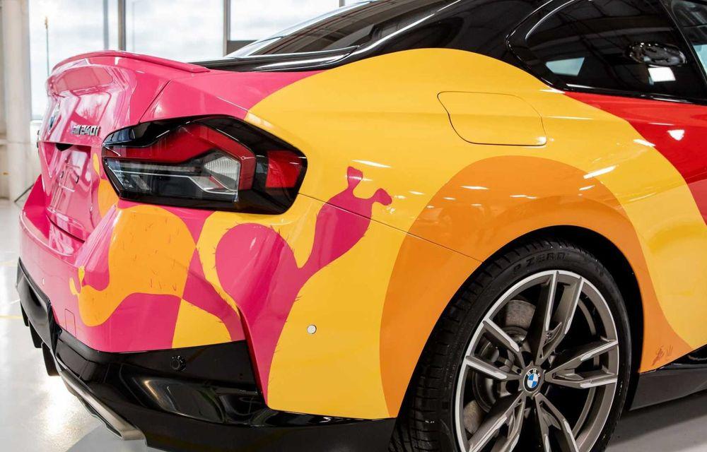 Noul BMW Seria 2 Coupe, transformat în Art Car cu ajutorul unui artist mexican - Poza 6