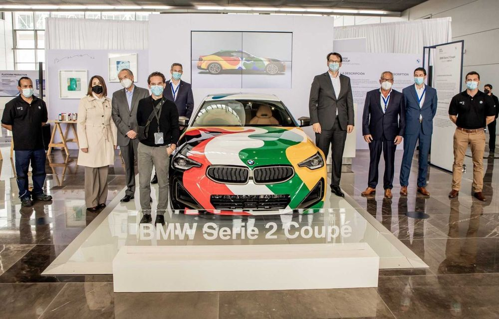 Noul BMW Seria 2 Coupe, transformat în Art Car cu ajutorul unui artist mexican - Poza 7